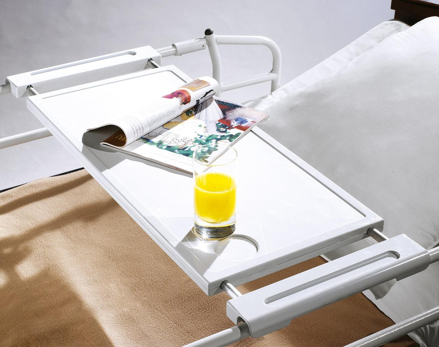 Tablette de repas universelle sotec m dical fabricant for Table pour manger au lit