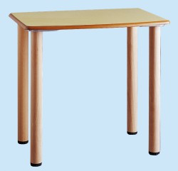 Table 4 wooden foot