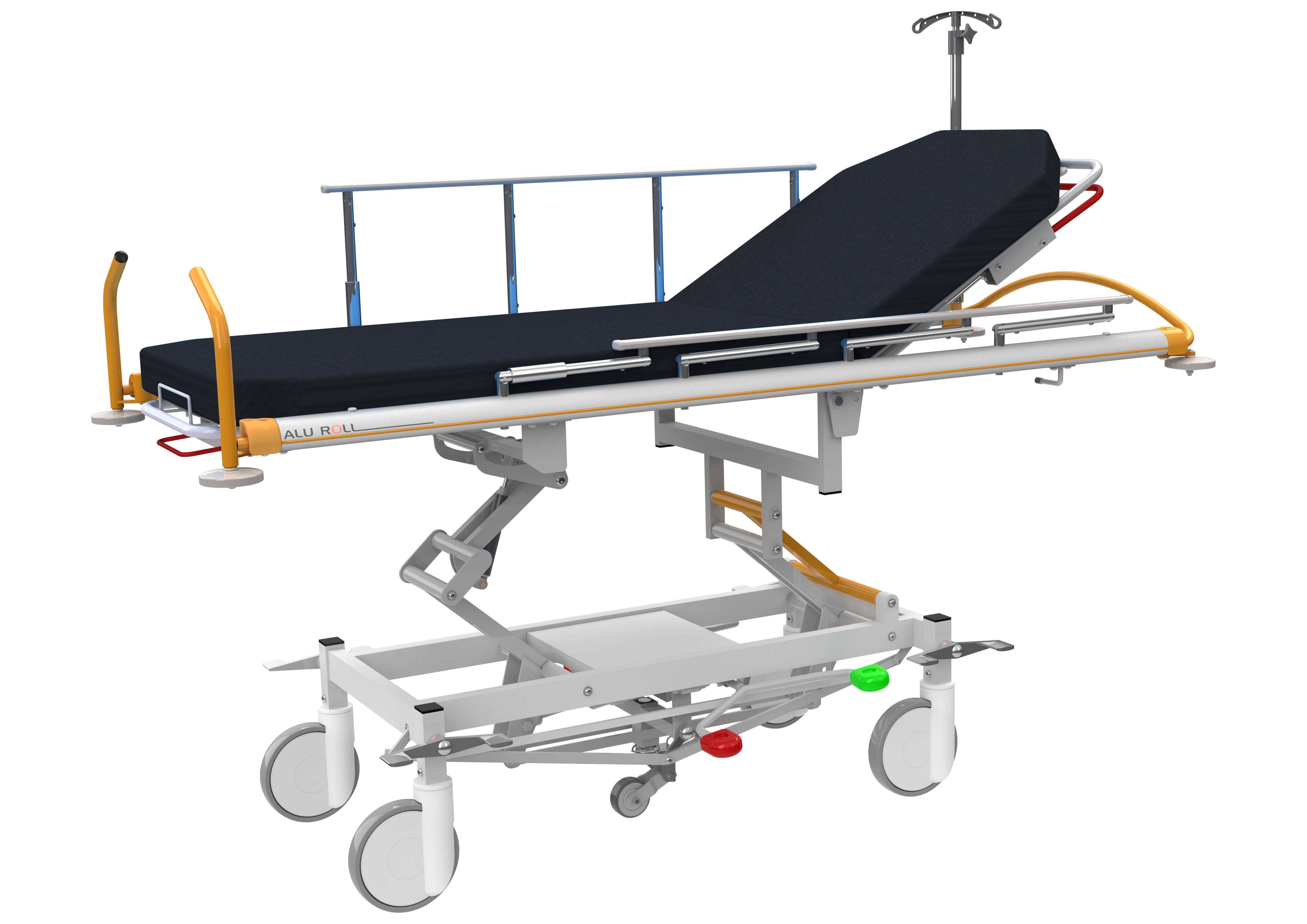 elec shower en wall trolley stretcher mounted lopital douchebrancard trolleys amfora