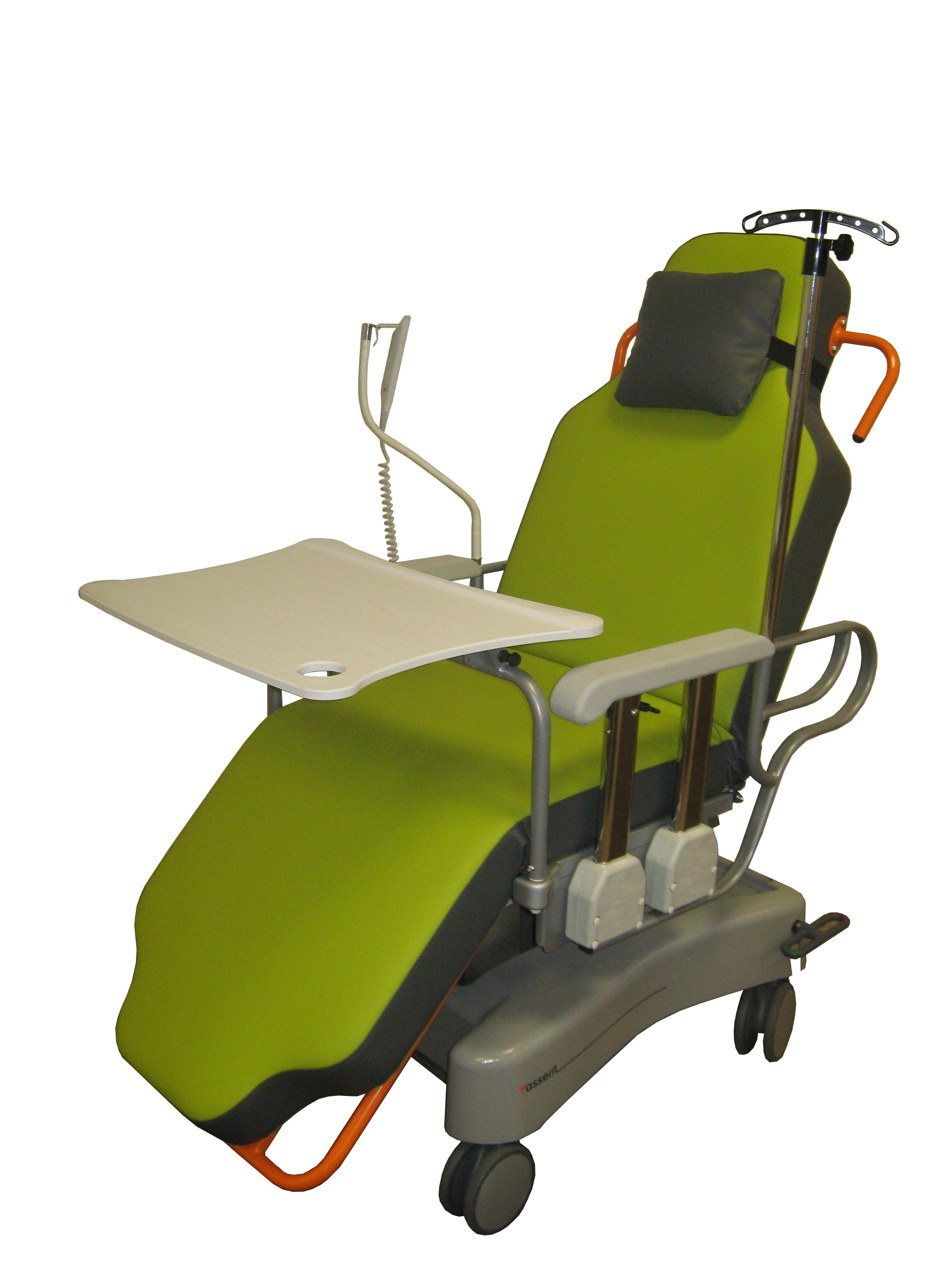 Trans Op Chair for ambulatory surgery by Sotec Medical Tasserit