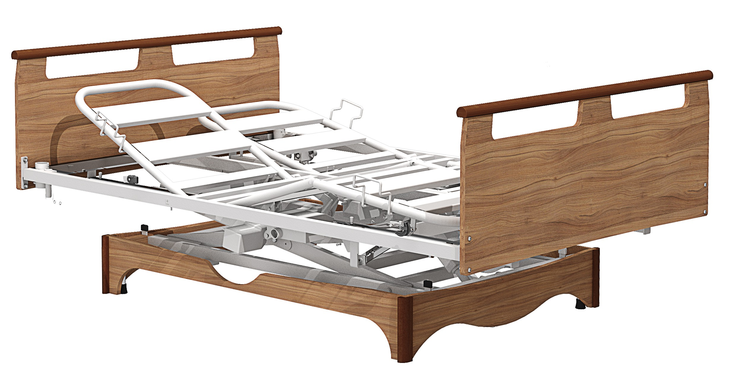 Couple Electric Medical Bed By Sotec Medical A French Company